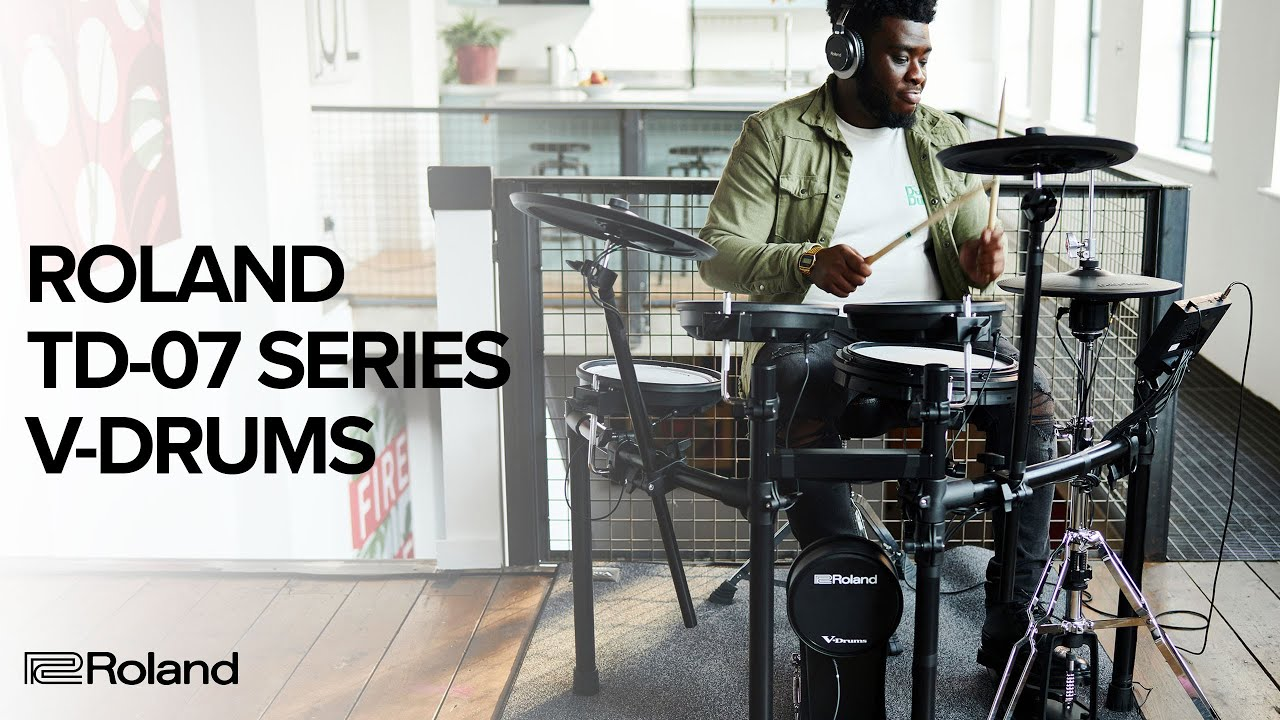 Introducing the Roland TD-07 Series V-Drums