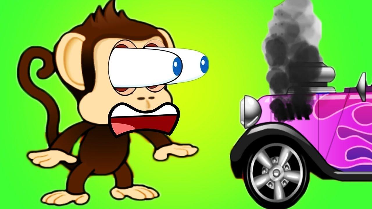 Мультики для самых маленьких детей - Мартышка! Развивающие мультфильмы для малышей 2021 года.