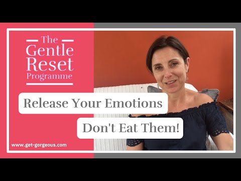 Release your emotions don't eat them from Adele @ Get Gorgeous