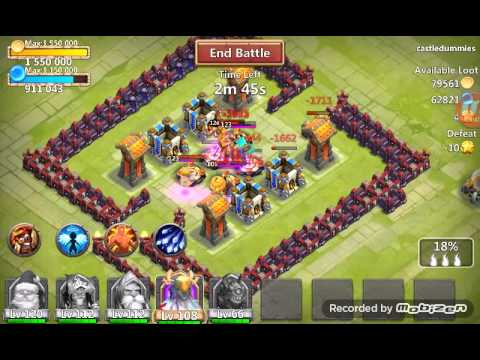Castle Clash  új Frissítés (1.2.77)