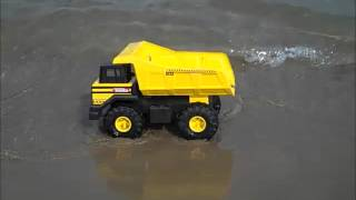 Tonka Classic Mighty Dump Truck in the water