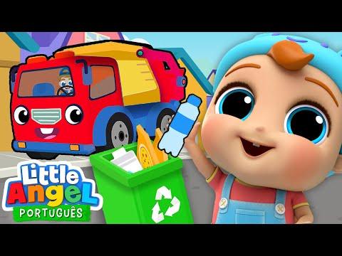 Nada De Jogar Lixo No Chão, Joãozinho! 🚯 | ♻️ Canal Do Joãozinho - Little Angel Português