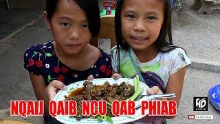 Qhia Ua Nqaij Qaib Ncu ไก่ใต้น้ำ สูตรเด็กดอย