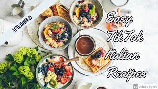 Compilation of TikTok Cooking (Italian Food Tutorial) Ep 3