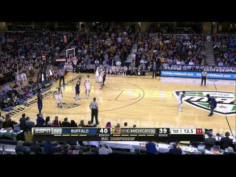 Buffalo Bulls vs Central Michigan Chippewas (14.03.2015)