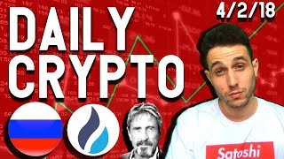 Daily Crypto News: Bitcoin Bullish? World Cup Hotels Accept Crypto, McAfee Shill? Huobi South Korea