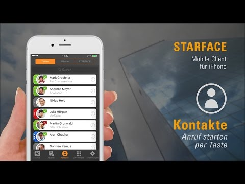 STARFACE Mobile Client für iPhone