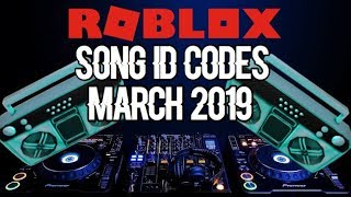 ROBLOX Song ID Codes || March 2019