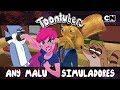 OS MELHORES SIMULADORES DO MUNDDDDOOOOHHHH feat. ANYMALU | Toontubers | #FiqueEmCasa