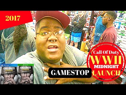 Call of Duty WWII: Gamestop Midnight Release 2017