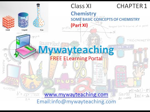 Some Basic Concepts of Chemistry NCERT Solutions - Class 11 Chemistry