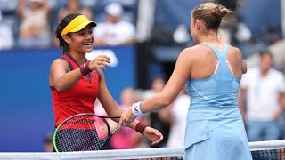 video: Brilliant Emma Raducanu thrashes Shelby Rogers to reach US Open quarter-finals