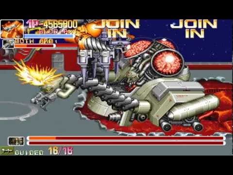 Arcade Longplay [381] Armored Warriors