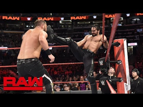 Seth Rollins & Finn Bálor vs. Bo Dallas & Curtis Axel: Raw, April 23, 2018