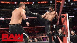 Seth Rollins & Finn Bálor vs. Bo Dallas & Curtis Axel: Raw, April 23, 2018