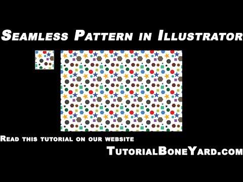 Adobe Illustrator Patterns Tutorial