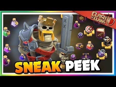 Sneak Peek #1: Clash Of Clans Is Upgrading! Quality Of Life Improvements | CoC Update Halloween 2019