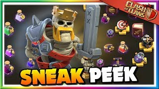 Sneak Peek #1: Clash of Clans is Upgrading! Quality of Life Improvements | CoC Update Halloween 2019