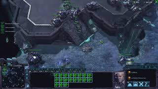 StarCraft II Terran Vs Terran Mech into BC Korean Server