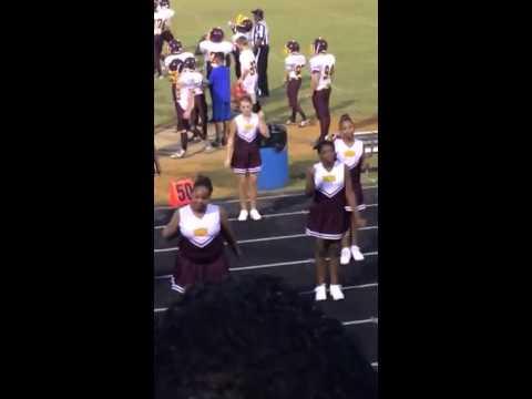 Nottoway middle school cheerleaders