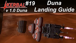 Duna Landing Mission Guide - KSP 1.0 Career Mode #19 - Kerbal Space Program Duna Guide Walkthrough