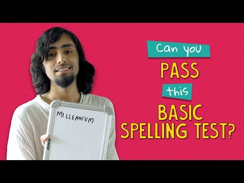 Can You Pass This Basic Spelling Test? | Ft. Aakansha | Ok Tested