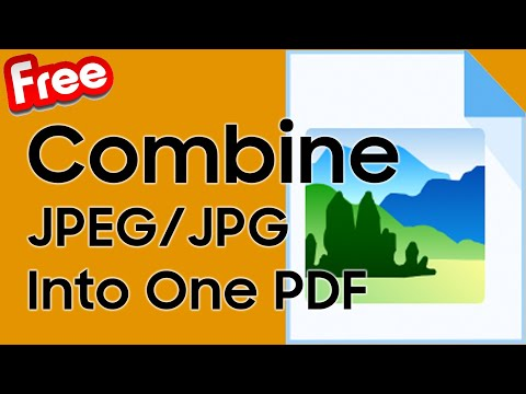 Combine two images and make pdf