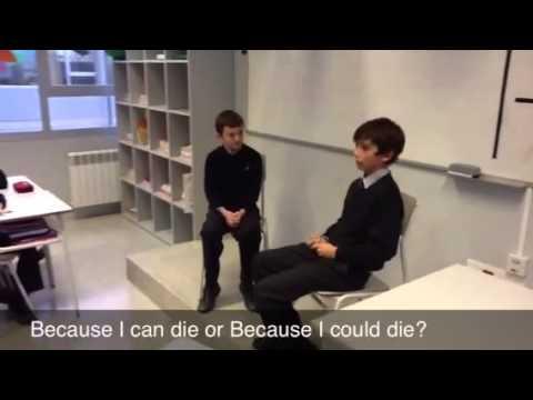 Interviews in class