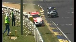 Bathurst 2004 Jason Plato Hits Wall