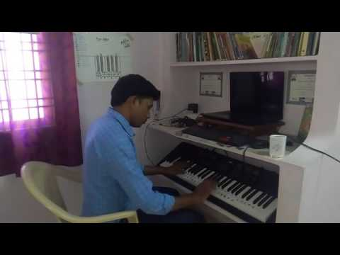 Evare song from Premam on Piano