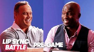 American Ninja Warrior Hosts Play 2 Truths 1 Lie | Lip Sync Battle Pregame