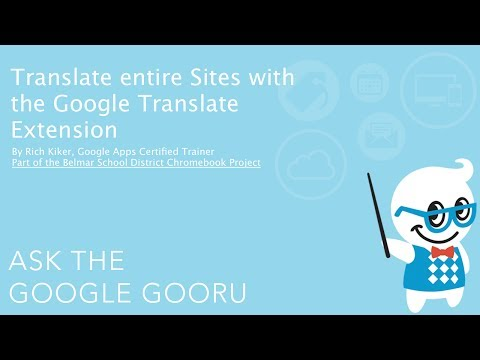 Translate an Entire Webpage with the Google Translate Extension