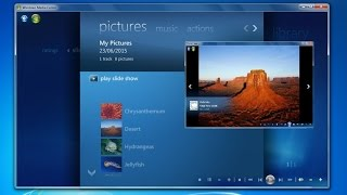 How to create slideshow with music windows 7 media center(Easy to learn how to create photo slideshow with music windows media center. Visit: http://www.azqnet.com - Learn ms word easily: ..., 2015-06-22T04:16:34.000Z)