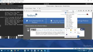 10 - SERVIDOR DHCP - FEDORA 22