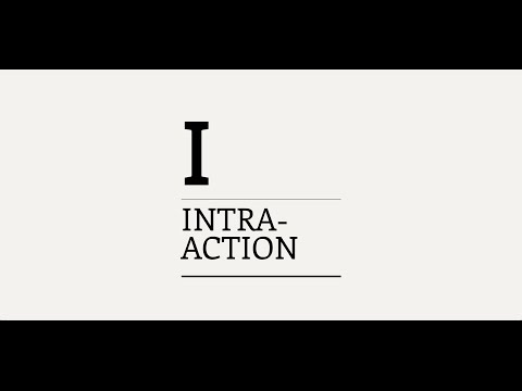 Three Minute Theory: What is Intra-Action?