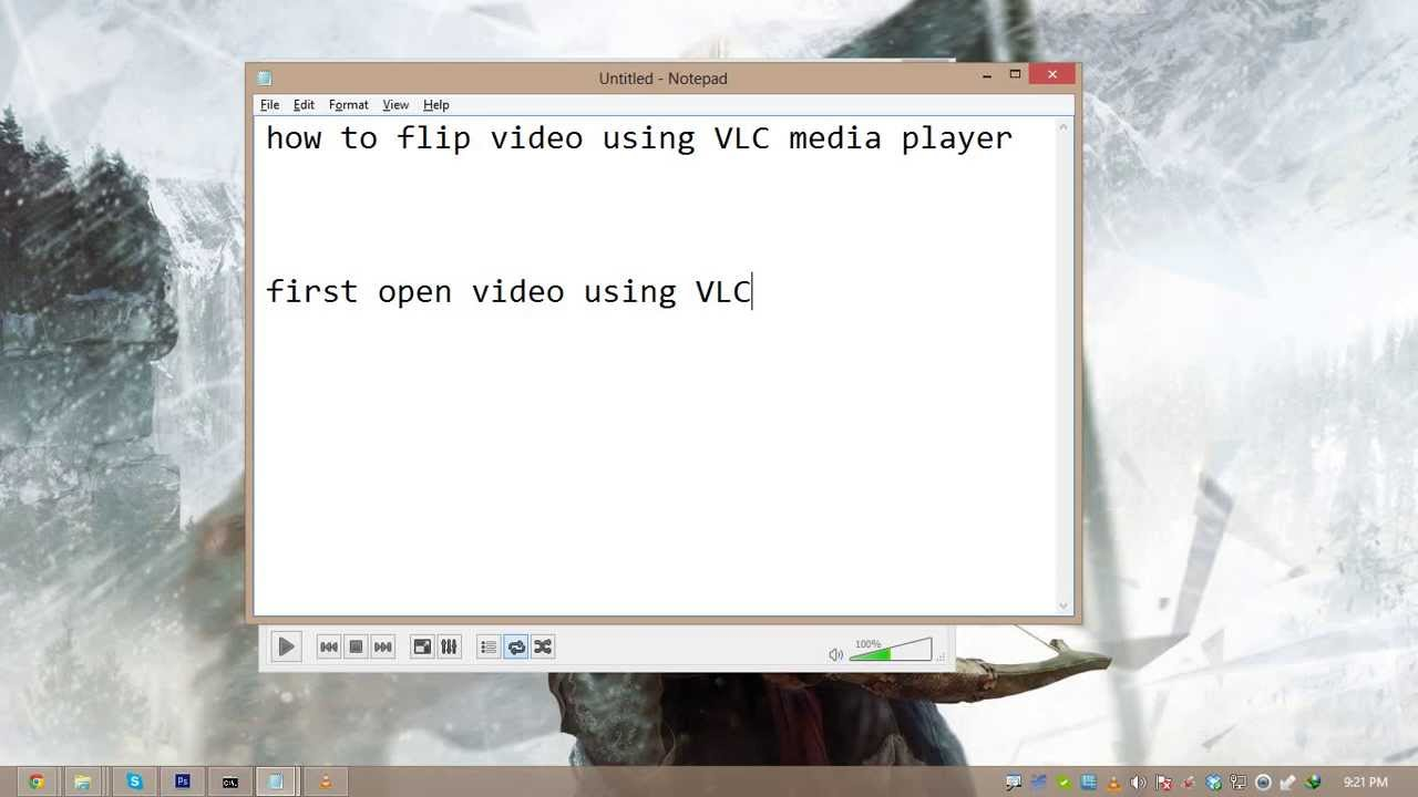How to rotate video using vlc media player youtube how to rotate video using vlc media player ccuart Image collections