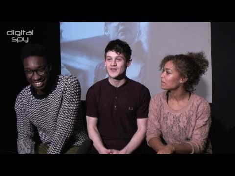 Curtis, Simon and Alisha on new 'Misfits'