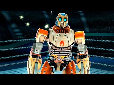REAL STEEL WRB New Robot Wildfire & New Thanksgiving Special Event