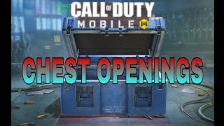 Call Of Duty Mobile - Chest Opening