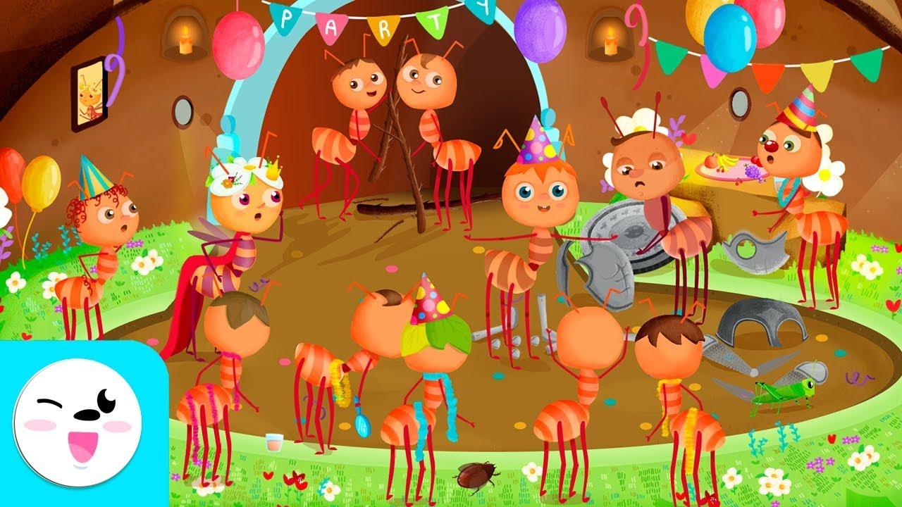 Quieres leer miles de cuentos infantiles cortos? EL HORMIGUERO   Cuentos con valores: LA HONESTIDAD