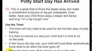 Potty Training Start Day - Video 14
