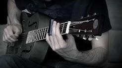 Resonator Slide Blues Improv in Open D