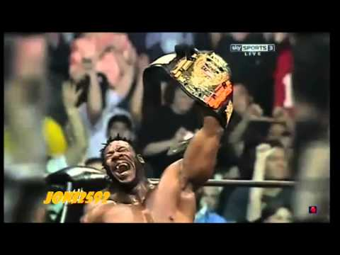 Booker T Inducte To The WWE Hall of Fame Class 2013