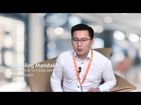 Banking Market in Mongolia | Sainbileg Mandakj, Director of Systems Dept., Golomt Bank