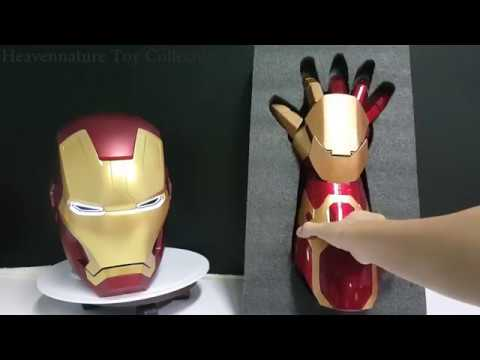 Iron Man Gauntlet Mark 42 [Full Review+House Party Protocol ]钢铁侠马克42手盔甲介绍+House Party Protocol
