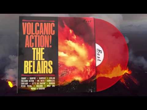 The Belairs - Volcanic Action - Record Store Day! - Red Vinyl