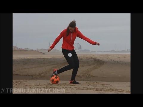 Niesamowite TRIKI z piłką dziewczyny z POLSKI! #TRENUJzKRZYCHEM