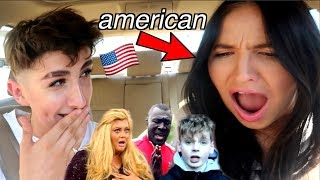 American Reacts to British Grime and Rap (n we chat sh*t)