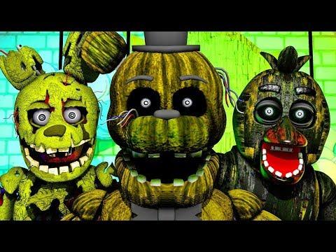 Five Nights at Freddy's 3 STREAM. ПРОДОЛЖАЕМ УЖАСЫ.