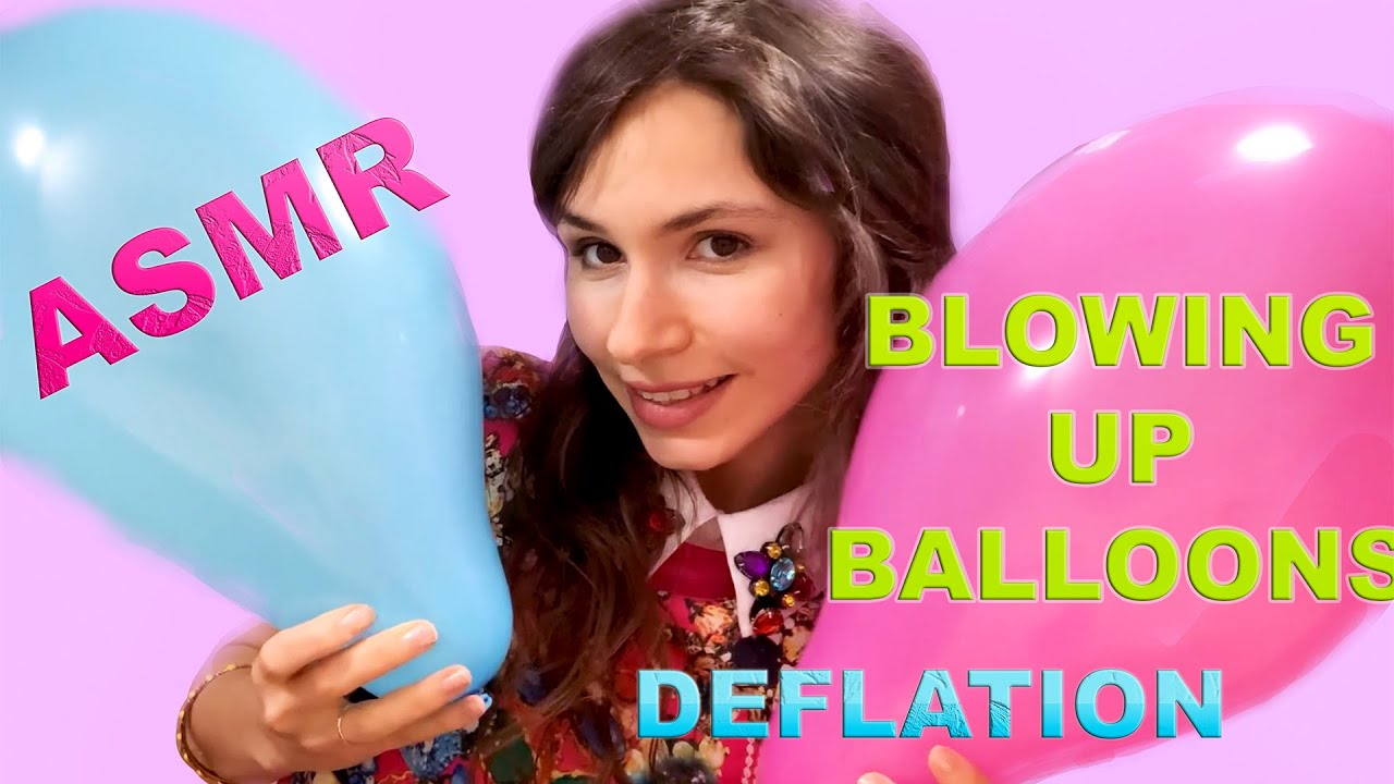 Download ASMR// BALLOONS BLOWING UP// INFLATION AND DEFLATION